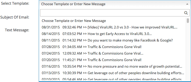 Message Templates